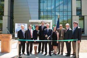 School of Business ribbon cutting, Farmingdale State College