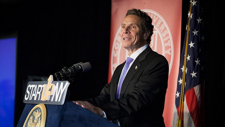 Welcome to the family: Gov. Andrew Cuomo's Start-Up NY program added four new members today, including two on Long Island.