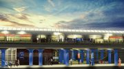 Coming soon: The new-and-vastly-improved Hicksville Station is slated to be completed by 2018 (sunset not included).