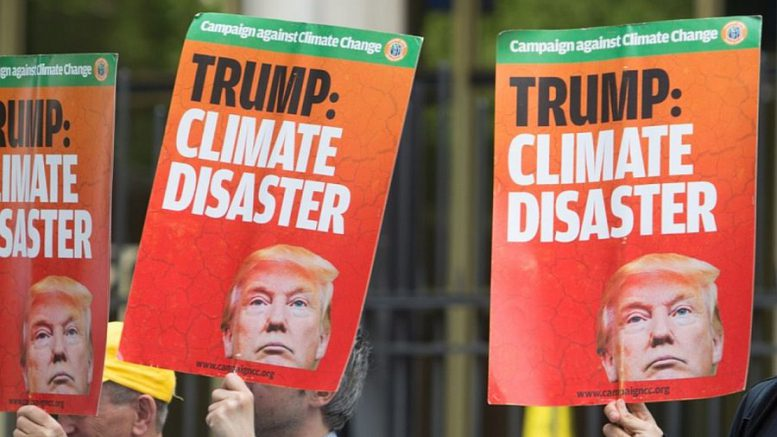 State rebellion against Trump over climate change is different