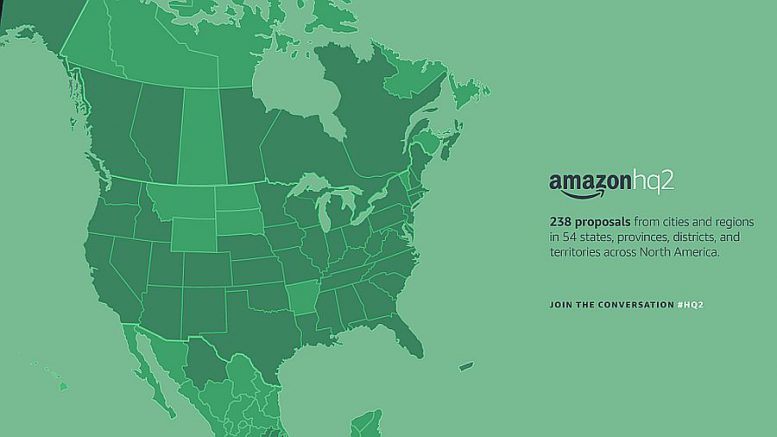 Denver among 20 cities on Amazon HQ shortlist